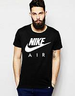 Мужская футболка Найк, брендовая футболка Nike спортивная, качественный хлопок.