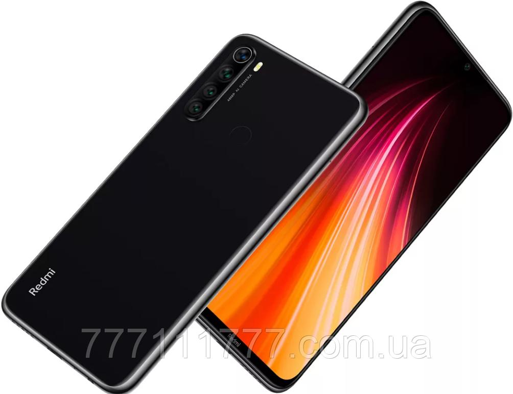 Телефон Xiaomi Redmi NOTE 8T  black Global Version 4/64Gb NFC