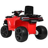 Детский квадроцикл Bambi ZP5138E-3 красный, фото 4
