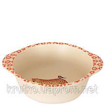 Тарелка из бамбукового волокна Сафари Eco, фото 2