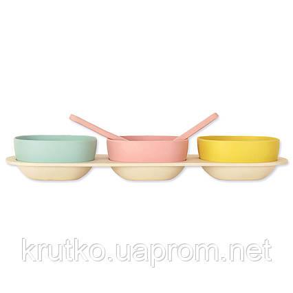 Набор посуды из бамбукового волокна Трио Eco, фото 2