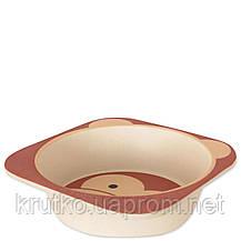 Тарелка из бамбукового волокна Мартышка Eco, фото 2
