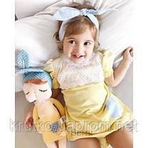 Мягкая кукла Angela Yellow, 34 см Metoys, фото 3