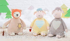 Мягкая игрушка Бежевый мишка, 28 см Metoys, фото 3
