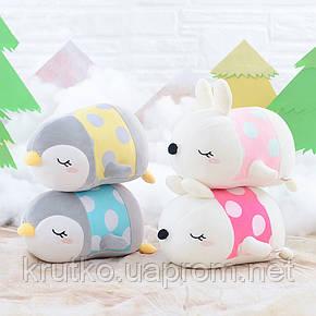 Мягкая игрушка Кролик розовый, 21 см Metoys, фото 2