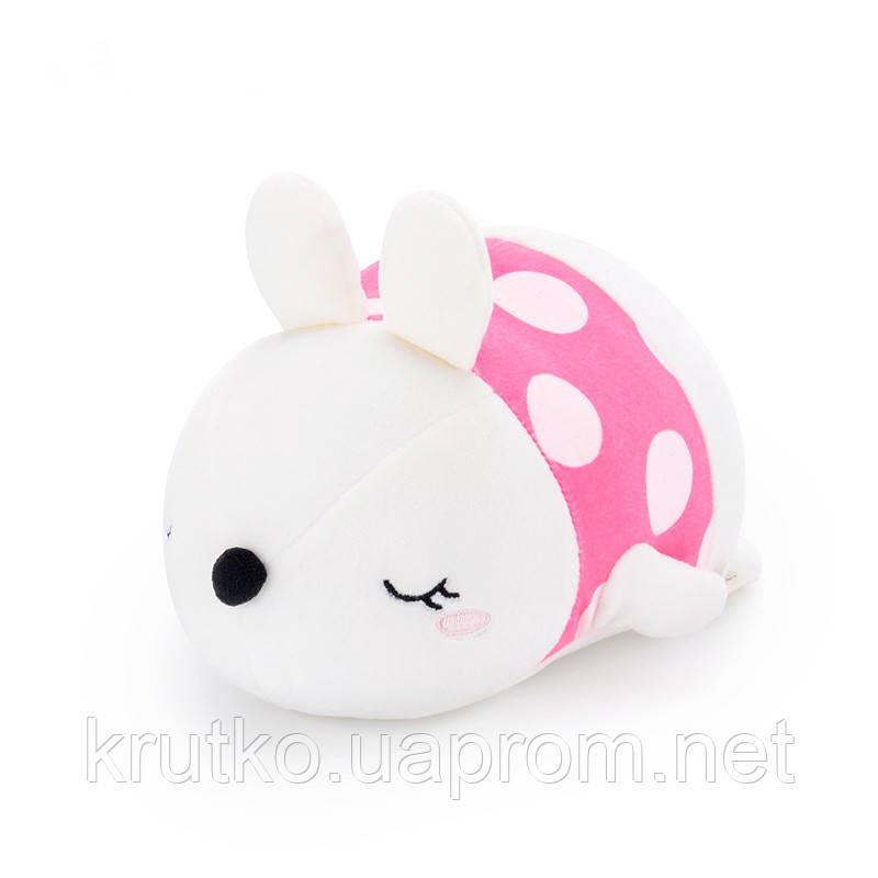 Мягкая игрушка Кролик фуксия, 21 см Metoys