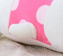 Мягкая игрушка Кролик фуксия, 21 см Metoys, фото 3