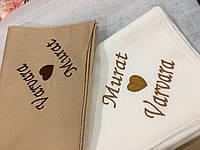 Вышитые носовые платочки