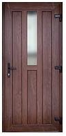 Входные двери ламинация снаружи орех 3400 грн м кв, фото 1