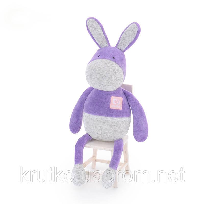 Мягкая игрушка Пурпурный ослик, 33 см Metoys
