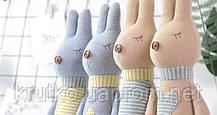 Мягкая игрушка Кролик с сердцем, 42 см Metoys, фото 3