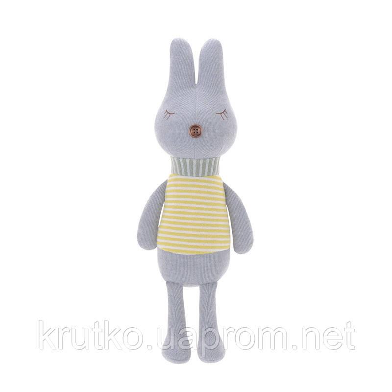 Мягкая игрушка Кролик в полоску, 42 см Metoys