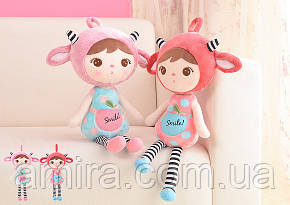 Мягкая кукла Keppel Smile Pink, 46 см Metoys, фото 2