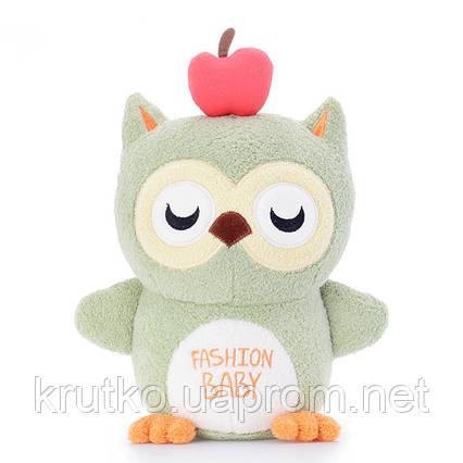 Мягкая игрушка Волшебная зеленая сова, 20 см Metoys, фото 2