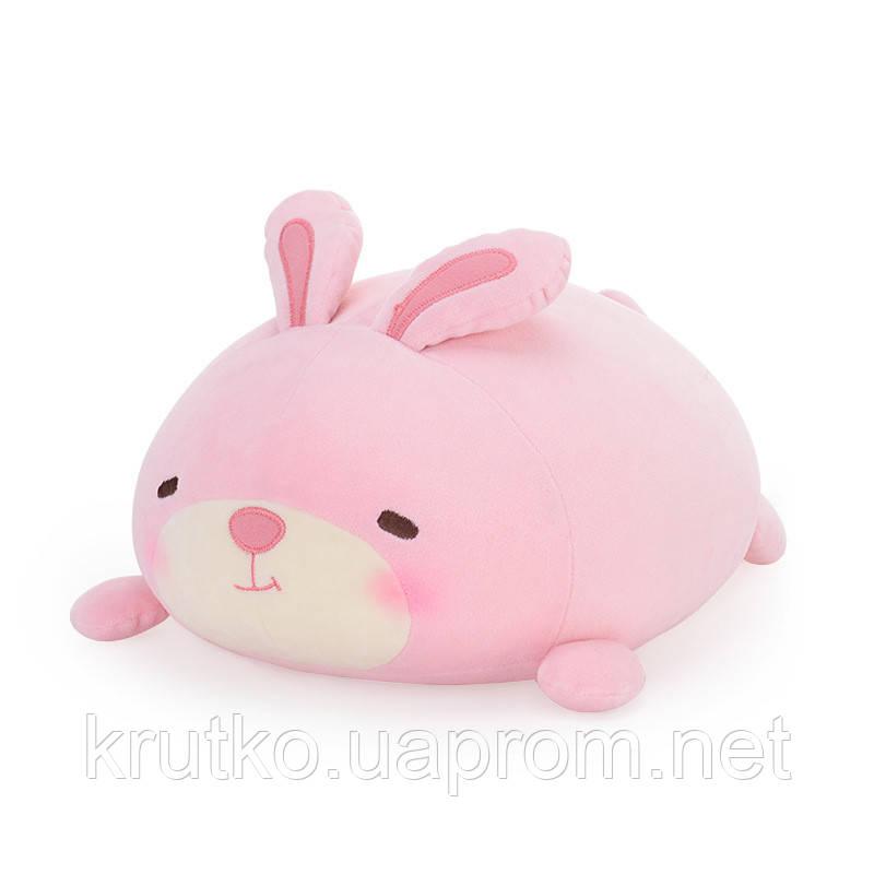 Мягкая игрушка - подушка Зайчик, 34 см Metoys