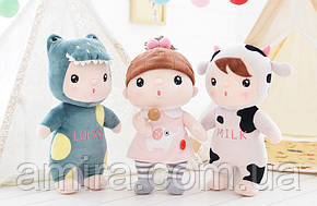 Мягкая кукла Kawaii Pink-Gray, 30 см Metoys, фото 2