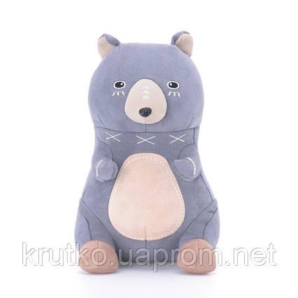 Мягкая игрушка Серый мишка, 22 см Metoys, фото 2