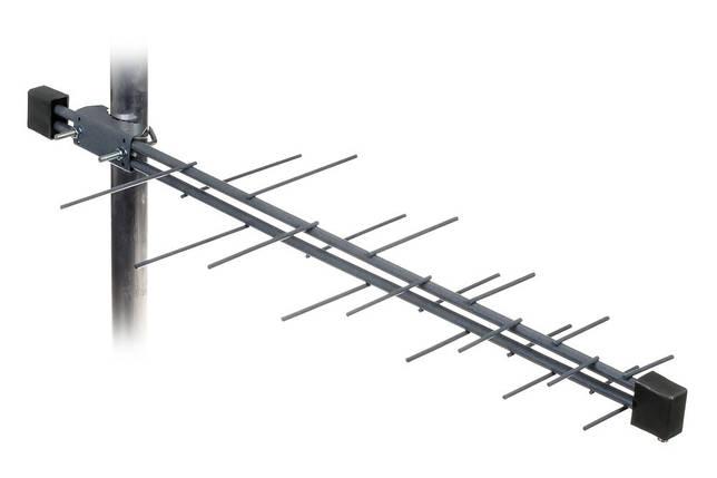 ТВ-антена Т2 Energy логоперіодична (сталь), фото 2