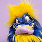 Интерактивная игрушка Grumblies Mojo Грамблз Моджо Сине-жёлтый светятся глаза, фото 5