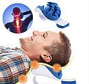 Релаксатор шеи и плеч Pillow blue, фото 4
