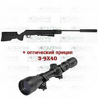Пневматическая винтовка SPA SR1250S Artemis, 380 м/с +ПО-3-9x40