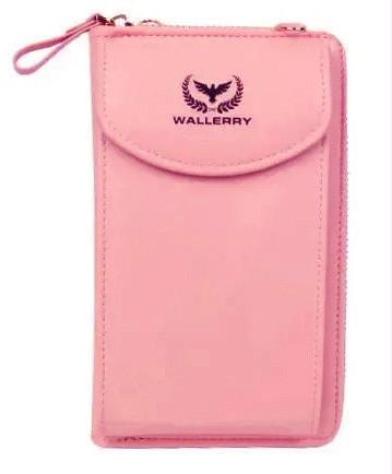 Женский кошелек Wallerry ZL8591 - Розовый