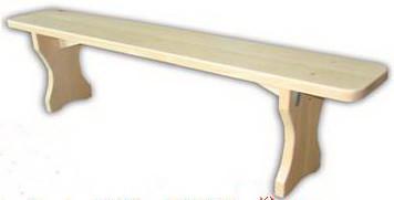 Деревянная скамейка (массив Бука)