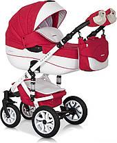 Дитяча універсальна коляска 3 в 1 Riko Brano Ecco 20 Sport Red