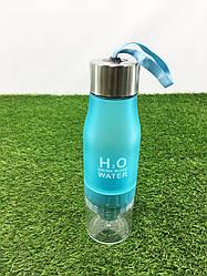 Бутылка для воды с соковыжималкой H2O