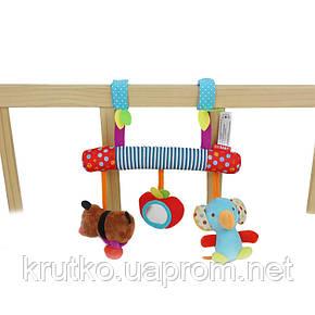 Мягкая подвеска Медвежонок и слоненок SKK BABY, фото 2