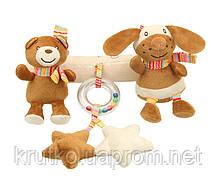 Мягкая подвеска Медведь и кролик BBSKY, фото 2