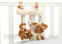 Мягкая подвеска Медведь и кролик BBSKY, фото 3