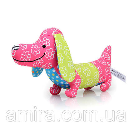 Мягкая музыкальная игрушка Собачка BBSKY, фото 2