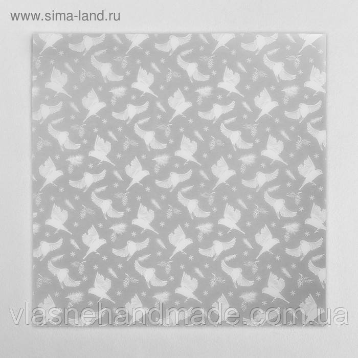 Калька - Снегири - Артузор - 30х30