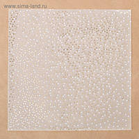 Калька з фольгуванням - Золотой песок - Артузор - 30х30