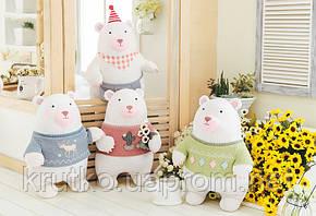 Мягкая игрушка Мишка в розовом свитере, 35 см Metoys, фото 2