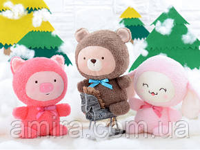 Мягкая игрушка Медвежонок, 22 см Metoys, фото 2