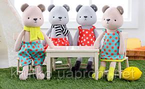 Мягкая игрушка Медвежонок в красном платье, 35 см Metoys, фото 2