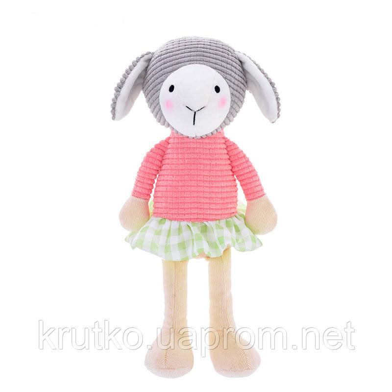 Мягкая игрушка Овечка в розовой кофте, 24 см Metoys