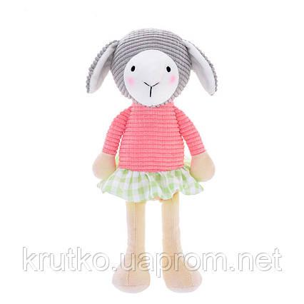Мягкая игрушка Овечка в розовой кофте, 24 см Metoys, фото 2