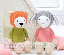 Мягкая игрушка Овечка в розовой кофте, 24 см Metoys, фото 3