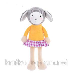 Мягкая игрушка Овечка в желтой кофте, 24 см Metoys, фото 2