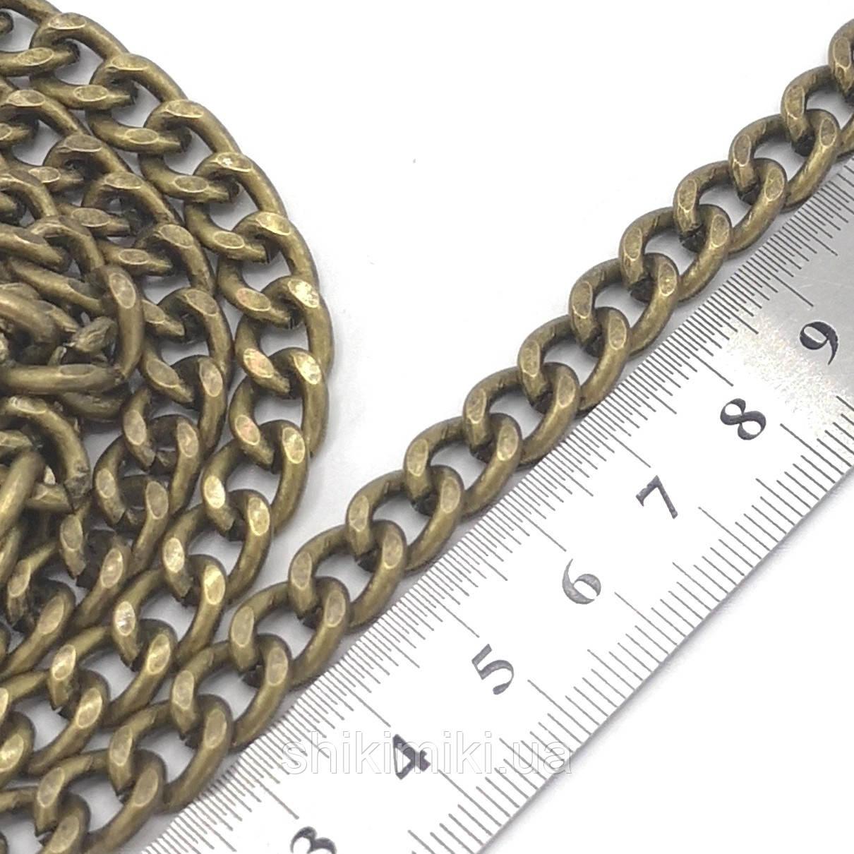 Цепочка  для сумки крупная Z02-4, цвет антик