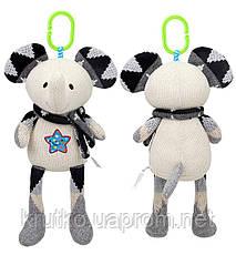 Мягкая игрушка - подвеска Слоненок BBSKY, фото 3