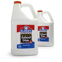 Клей Элмерс белый 3.78 л Самый лучший для слаймов! Elmer's scool glue 1 Галлон