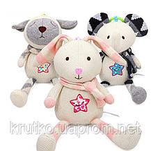 Мягкая игрушка - подвеска Кролик BBSKY, фото 3