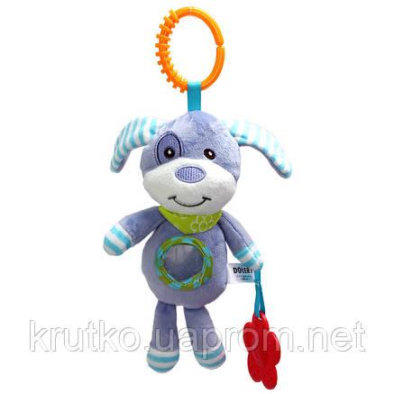 Мягкая игрушка - подвеска Щенок Dolery, фото 2