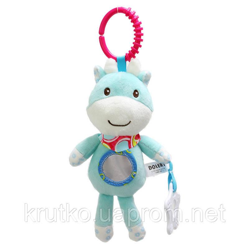 Мягкая игрушка - подвеска Олененок Dolery