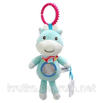 Мягкая игрушка - подвеска Олененок Dolery, фото 2