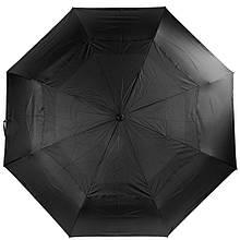 Зонт мужской автомат Три Слона, черный